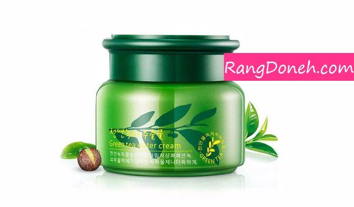 کرم تقویت کننده پوست صورت چای سبز رورک