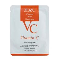 ماسک ورقه ای ویتامین سی برند زوزو