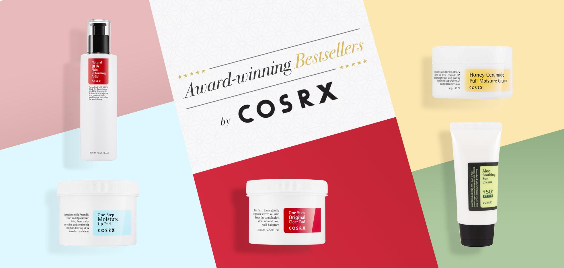 COSRX،محصولات پوستی کره ای