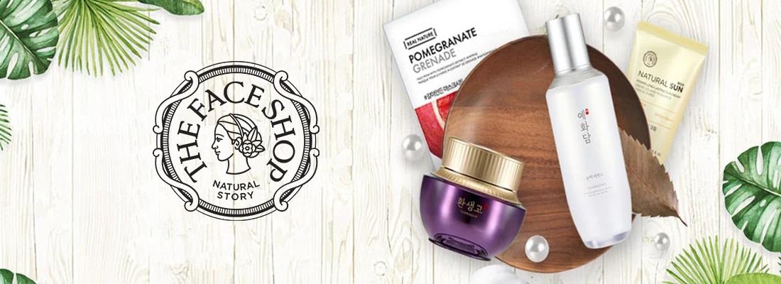 THE FACE SHOP،محصولات پوستی کره ای