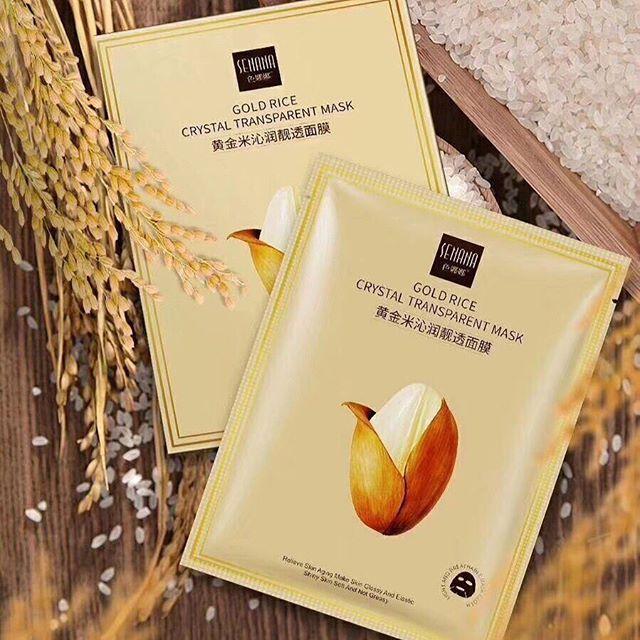 ماسک ورقه ای برنج طلایی سنانا