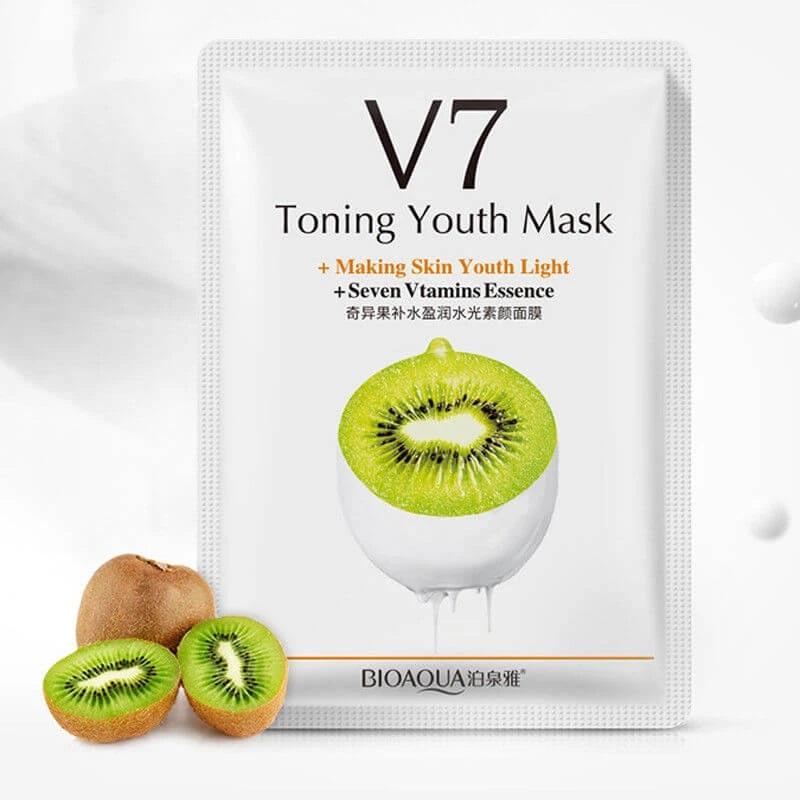 مجموعه ماسک های ورقه ای صورت میوه ای و هفت ویتامین بایوآکوا مجموعه ماسک های مرطوب کننده و تقویت کننده از برند مشهور بیوآکوا میباشد که پوست شما را تقویت کرده و سلامت و درخشش طبیعی را به آن بر میگردانند. فرمولاسیون این ماسک ها از مواد طبیعی و غیر تحریک کننده تهیه شده و تاثیر گذاری شگفت آوری دارند.