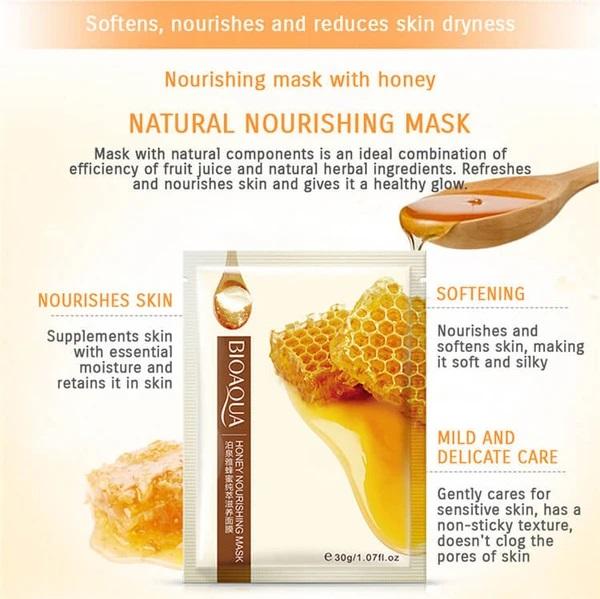 ماسک ورقه ای مغذی عسل بیوآکوا