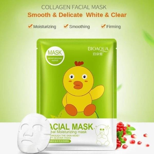 ماسک ورقه ای مرطوب کننده انار کوکو فرندز بیوآکوا