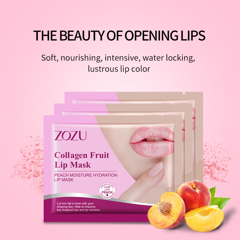 ماسک لب کلاژن میوه ای زوزو