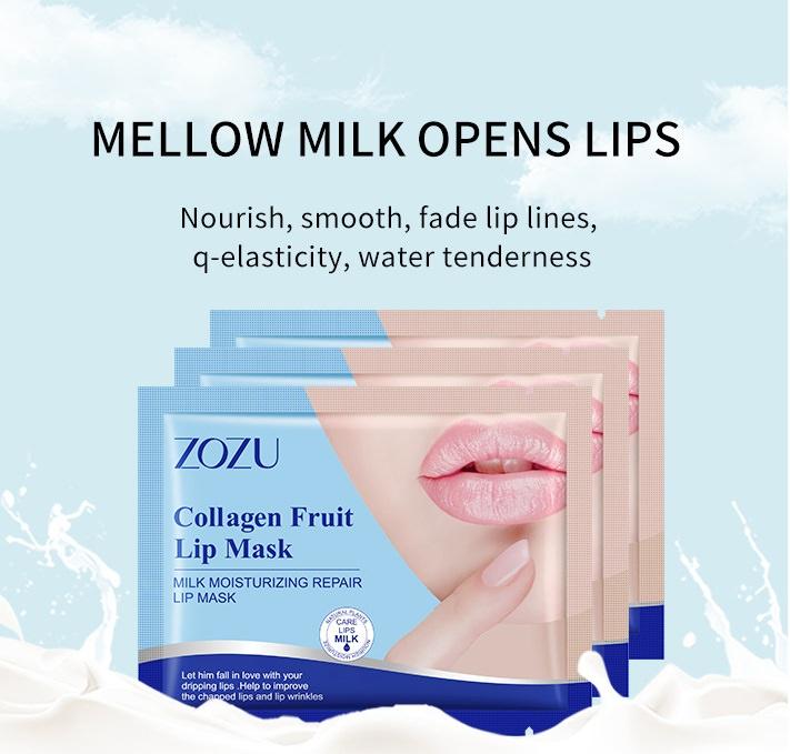 ماسک لب کلاژن شیری زوزو