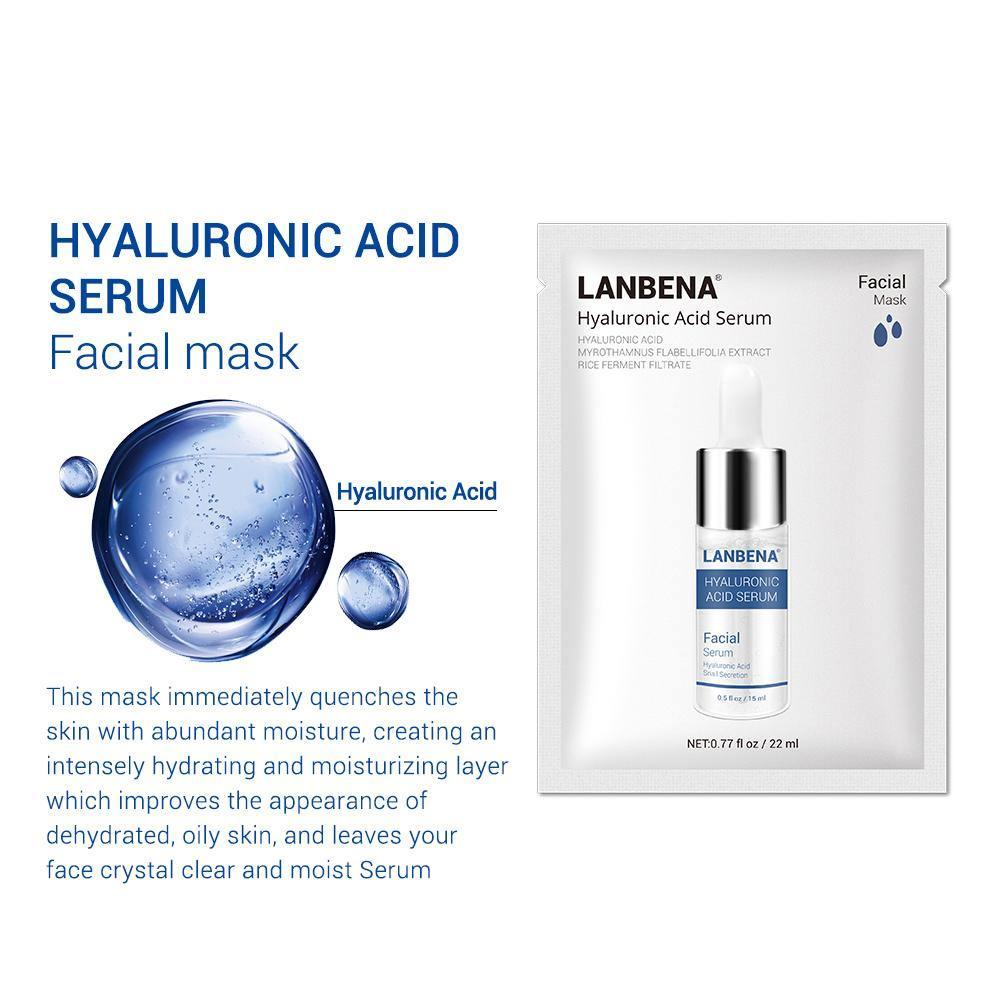 ماسک ورقه ای هیالورونیک اسید لانبنا