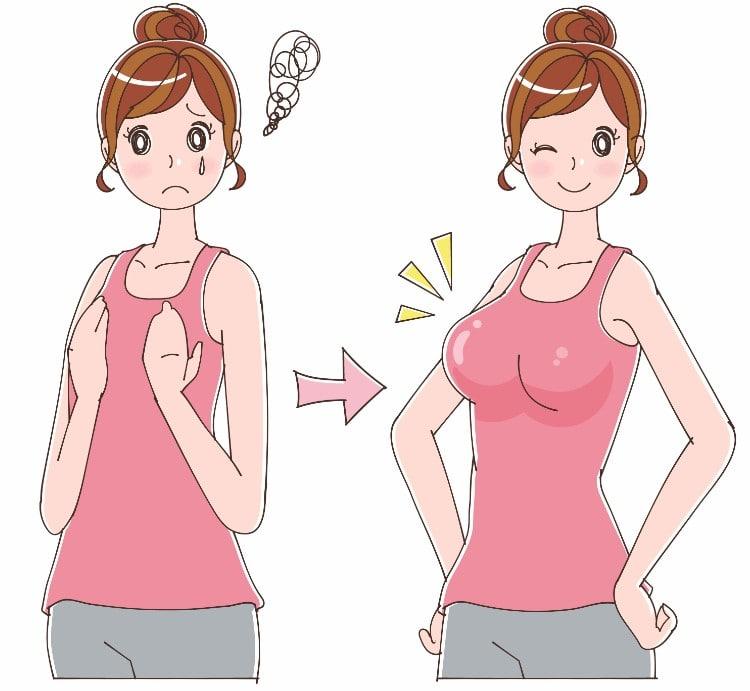 روشهای افزایش سایز سینه