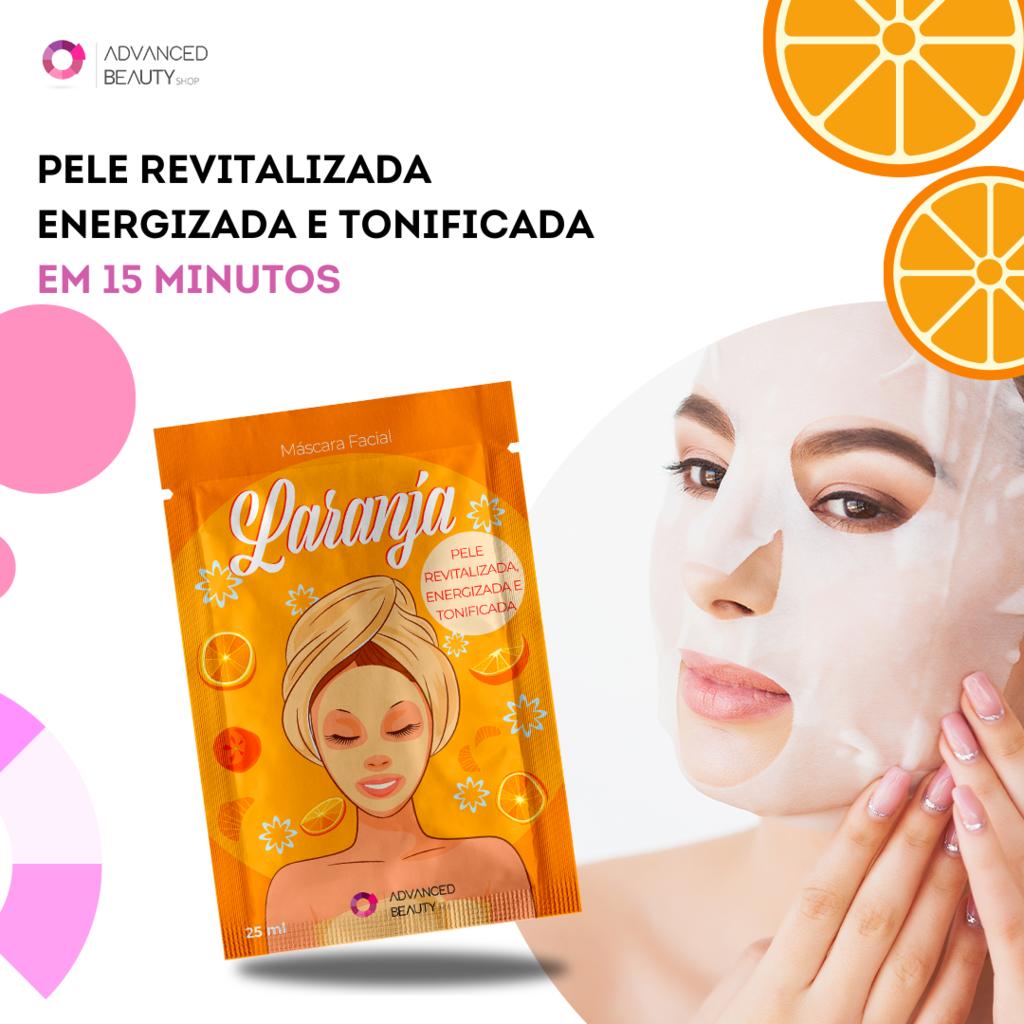 ماسک ورقه ای سفید کننده پرتقال ادونس بیوتی