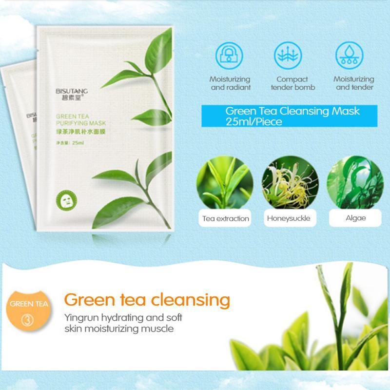 ماسک ورقه ای چای سبز بیسوتانگ