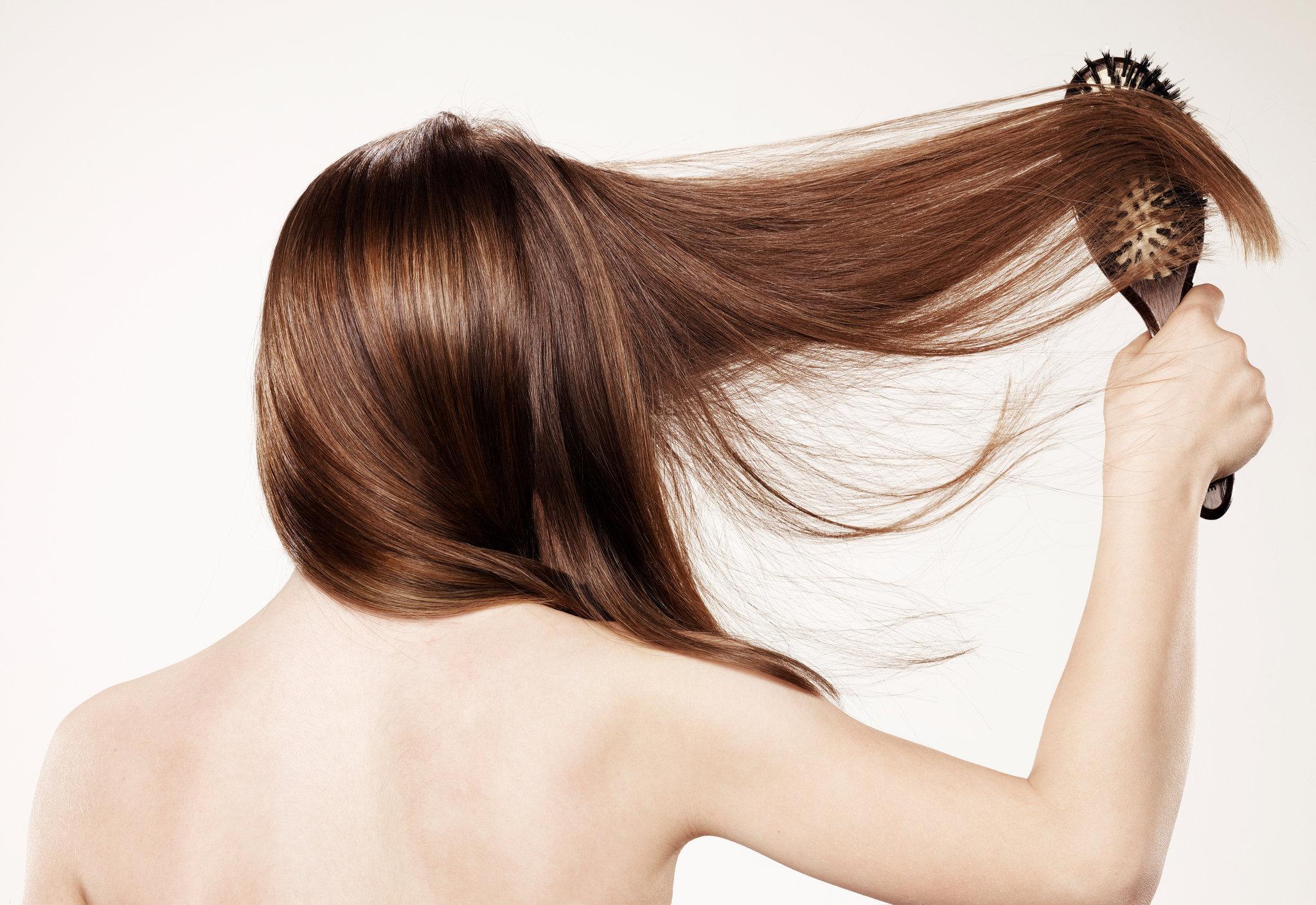 روتین موی خشک